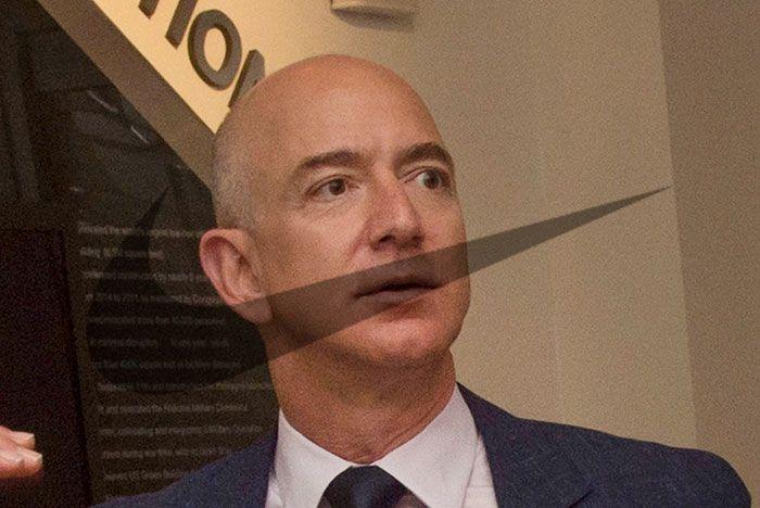 Jeff Bezos Nike Swoosh