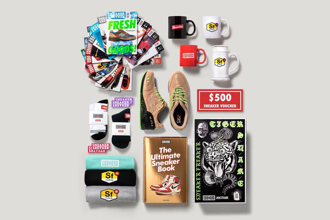 The Ultimate Sneaker Freaker Prize Pack