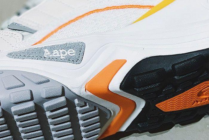 Aape Dimension White Orange Aape Brand