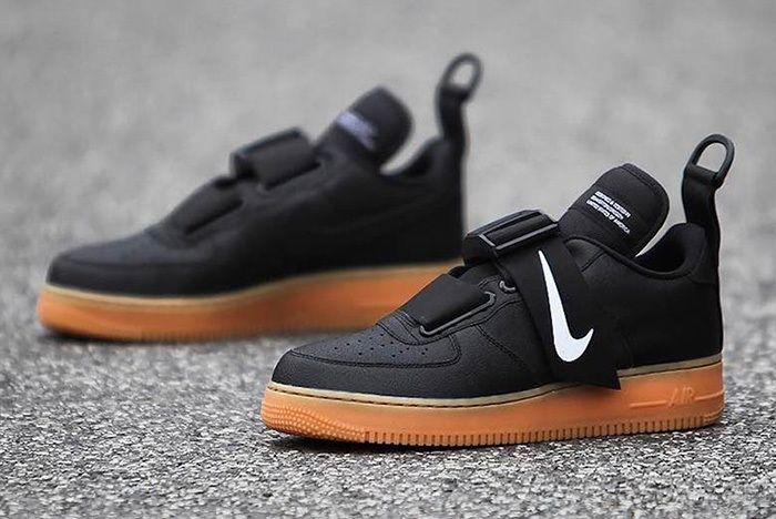 Nike Air Force 1 Utility Black Gum 2