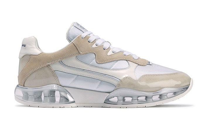 Alexander Wang Stadium Sneaker White Right Side View