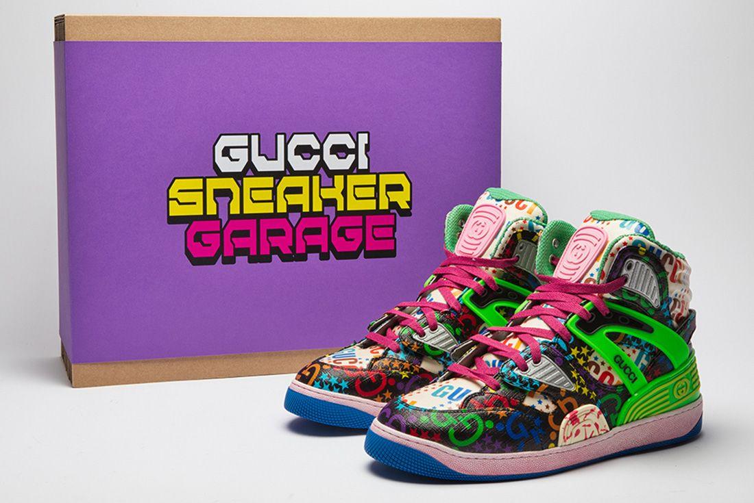 gucci shoe surgeon collaboration sneakers