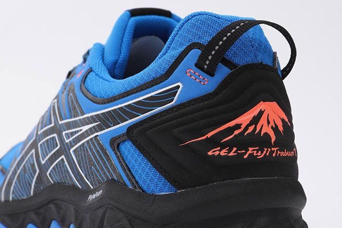 Asics Gel Fujitrabuco 7 Gtx Blue Heel