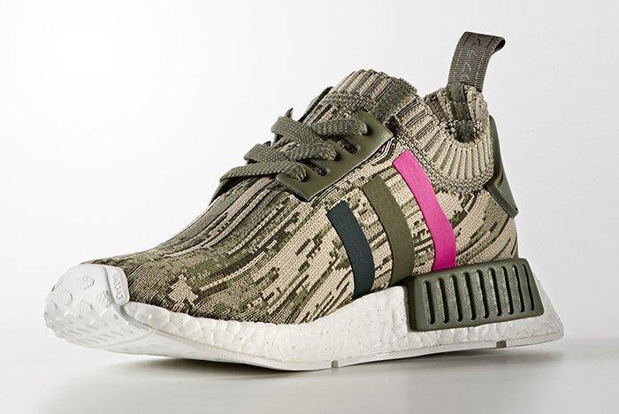 Adidas Nmd R1 Pk Shock Pink 2