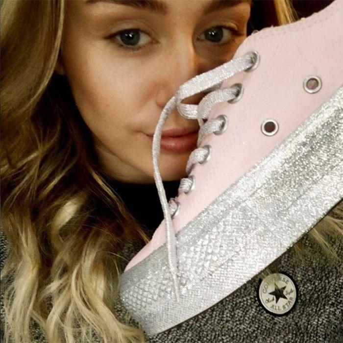 Myley Cyrus Converse Chuck Taylor All Star Sneaker Freaker 9