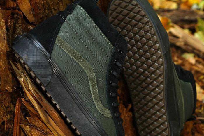 Vans Sk8 Hi Mte Leather Black 1