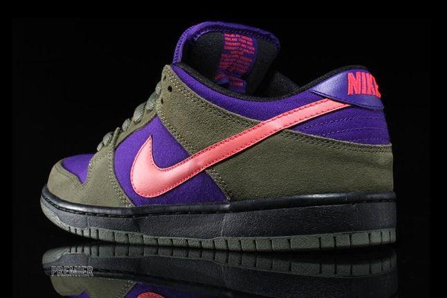 Nikesb Dunk Low Electricolive Heel Quarter