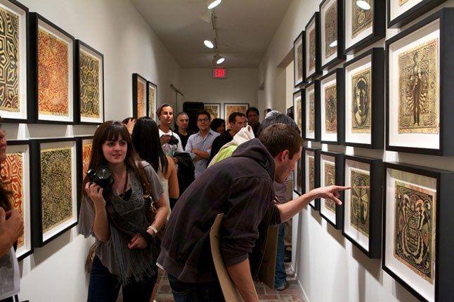 Shepard Fairey Printed Matters Exhibition Recap 101 1