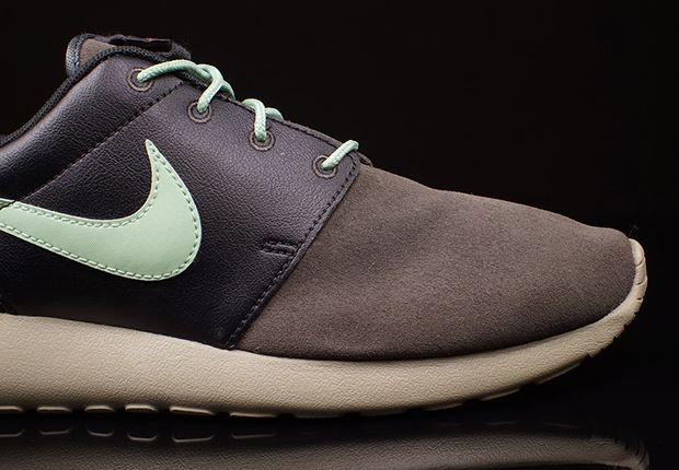Nike Roshe Run Premium Midnight Fog Emerald Green 3