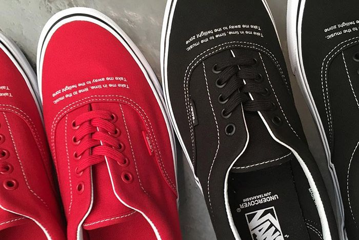 Undercover Vans Era Red Black