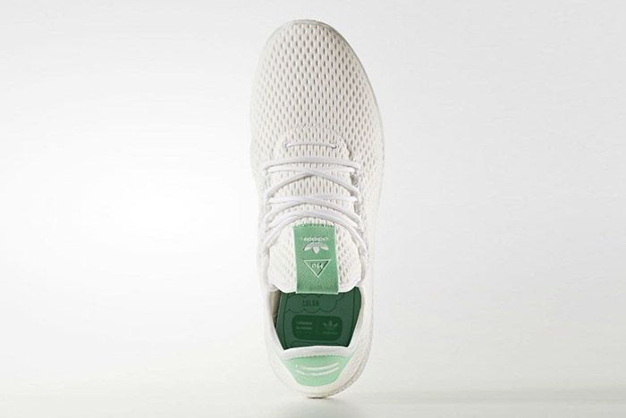 Adidas Pharrell Williams Tennis Hu Pastel Green 3