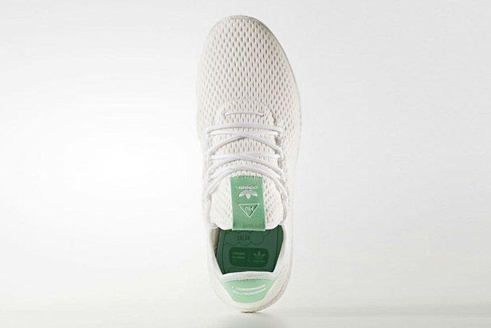 Adidas Pharrell Williams Tennis Hu Pastel Green 3