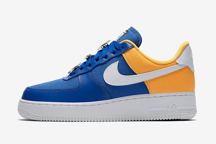 Nike Air Force 1 Low Warriors Aa0287 401 Release Date Side