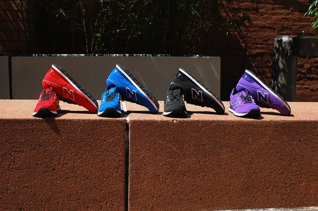 New Balance 574 Monochrome Nubuck Pack 12