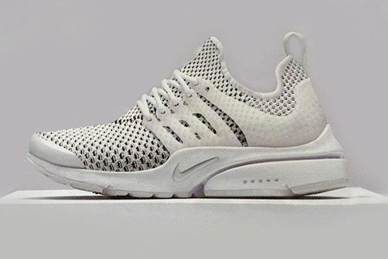 Nike Air Flyknit Presto White Preview