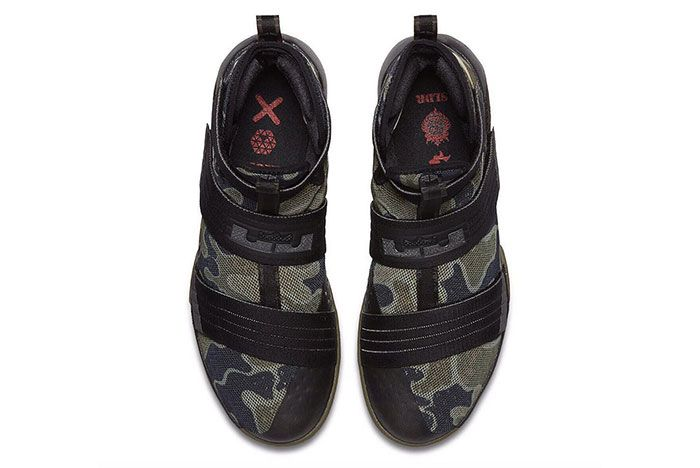 Nike Lebron Zoom Soldier 10 Camo 2