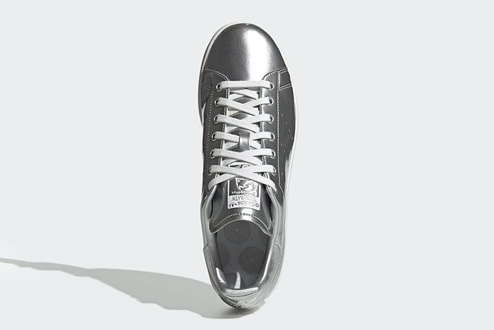 Adidas Stan Smith Silver Metal Fv4300 Top