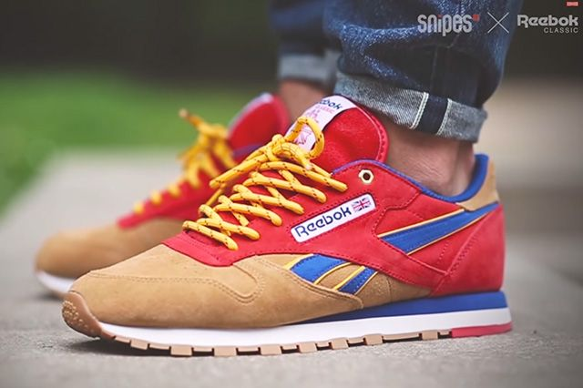 Snipes X Reebok Classic Leather Camp Out 61