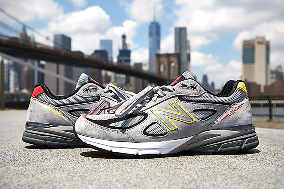 Dtlr New Balance 990V4 Dmv Grey Hero