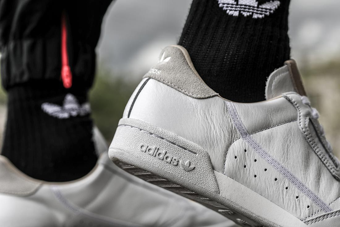 Adidas Continental Home Of Classics Right Heel Detail