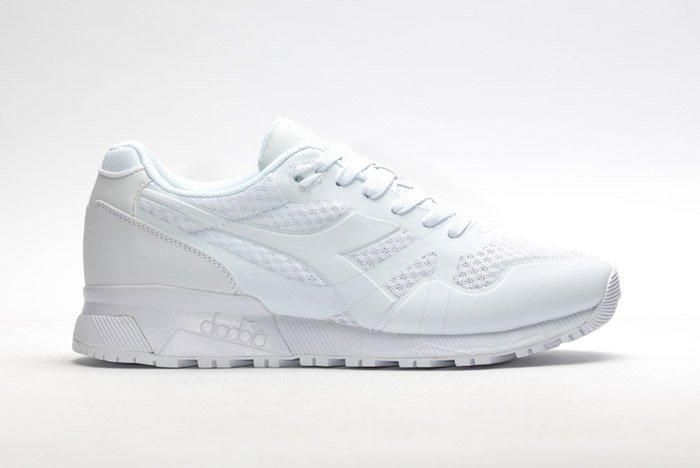 Diadora N9000 Mm Ii All White 1