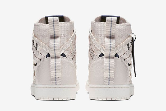 Air Jordan 1 Cargo Light Cream Heel