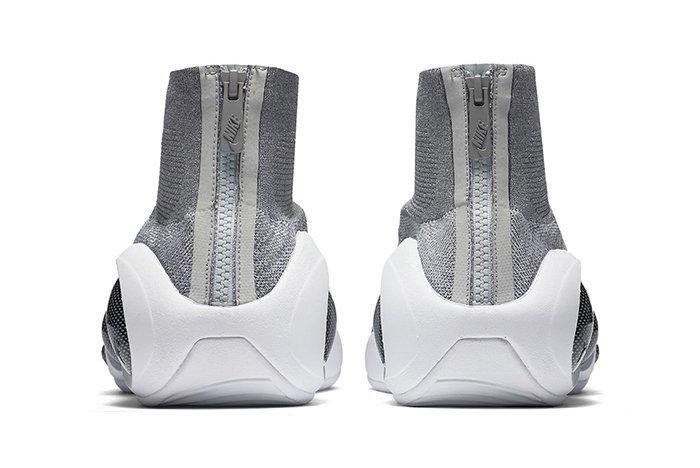 Nike Zoom Flight Bonafide Grey White3
