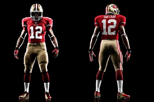 San Francisco 49Ers Uniform 1