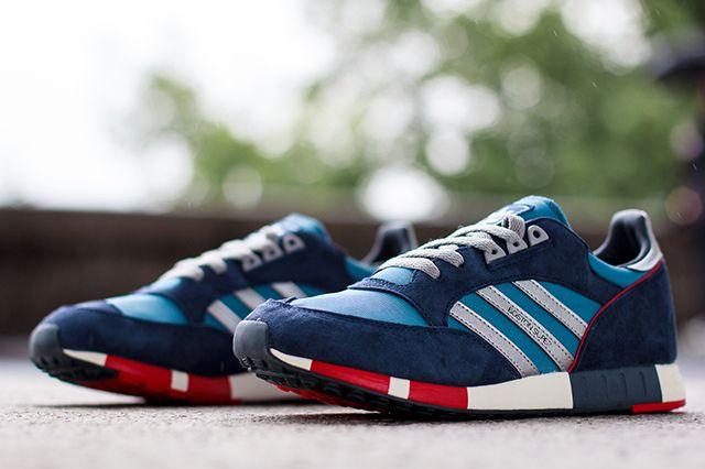Adidas Originals Boston Super Stonewash Blue1