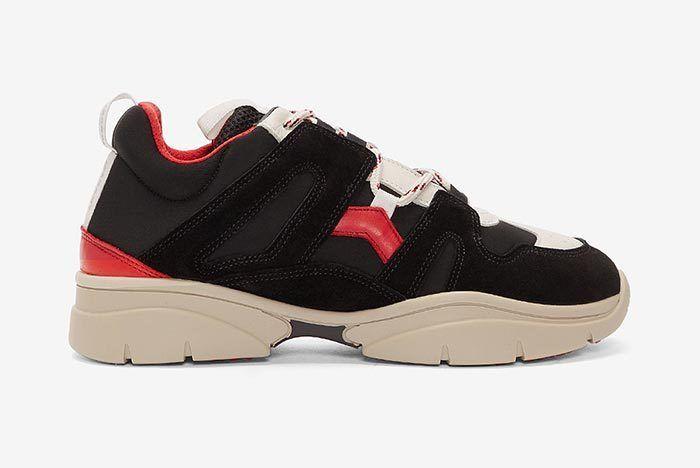 Isabel Marant Kindka Mountain Sneaker Black 1