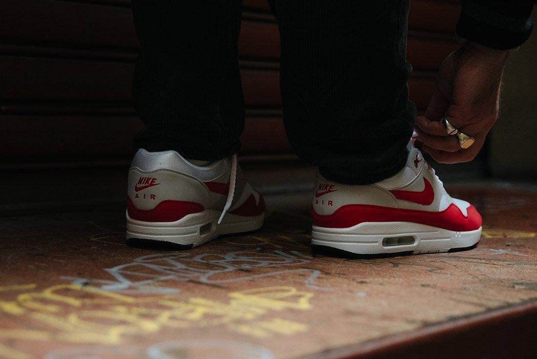 Nike Air Max 1 Anniversary Og Red White 20