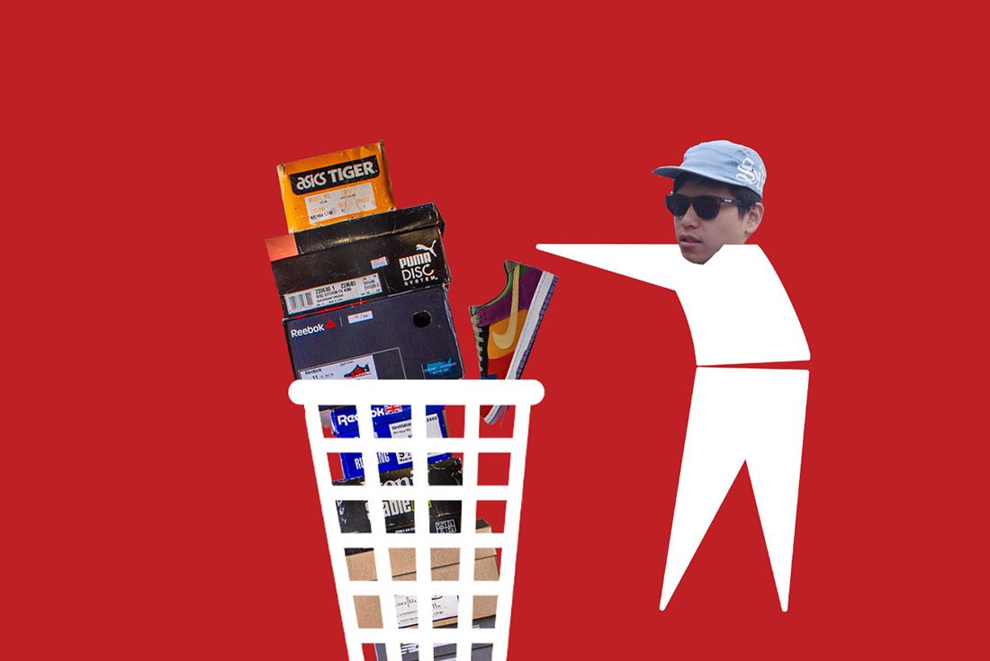 Minh Cutting Sneaker Collection Header