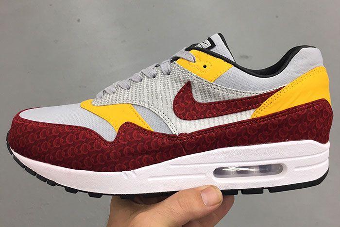 As Roma Air Max 1 Custom 1 Sneaker Freaker