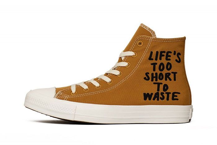 Converse Chuck Taylor Lifes Too Short To Waste Lateral