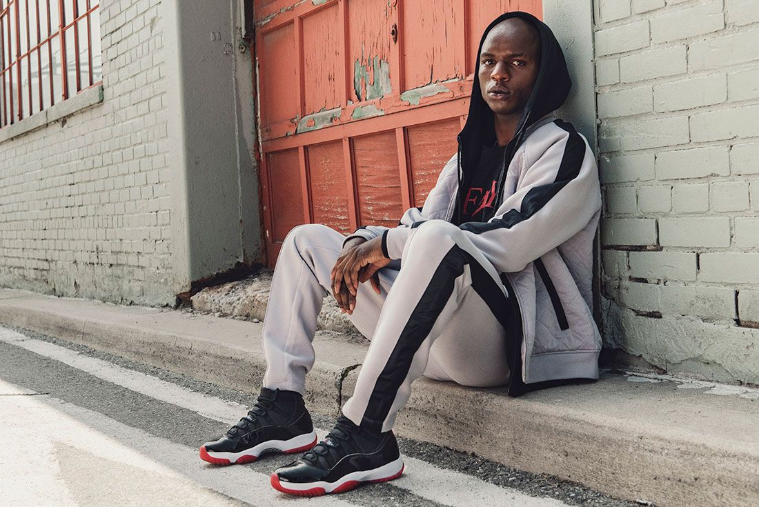Air Jordan 11 Bred Jd Sports Hero Shots2