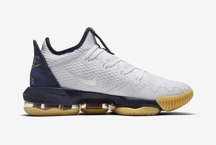 Nike Lebron 16 Low Olympic Medial