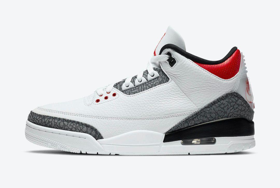 Air Jordan 3 Fire Red Japan Exclusive Left