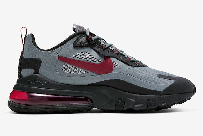 Nike Air Max 270 React Houndstooth Ct3135 001 Medial