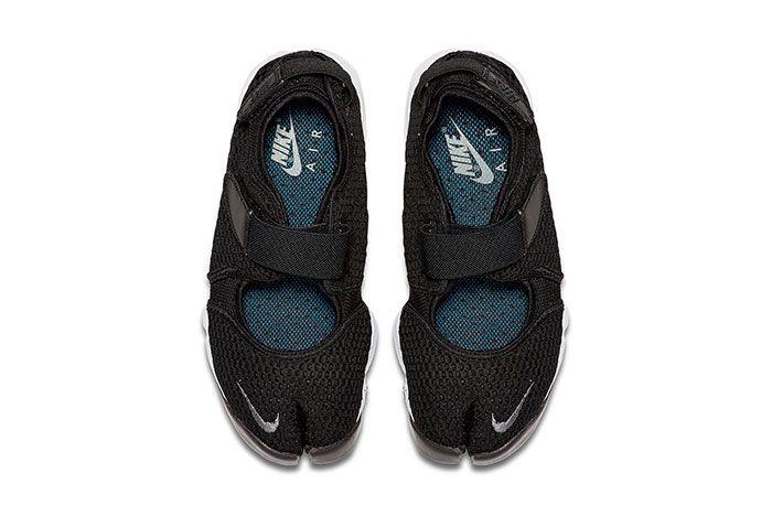 Nike Air Rift Black And White Top Shot 2