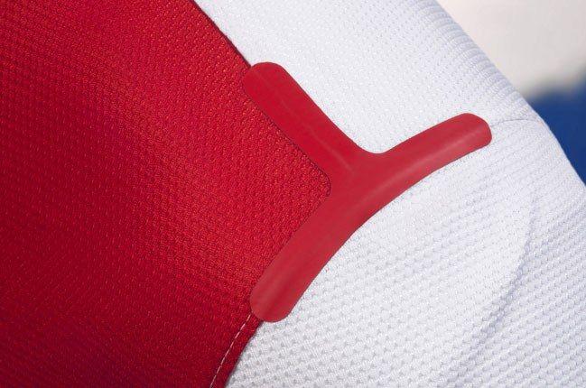 Nike Football Holland Away Jersey Shoulder Pad 1