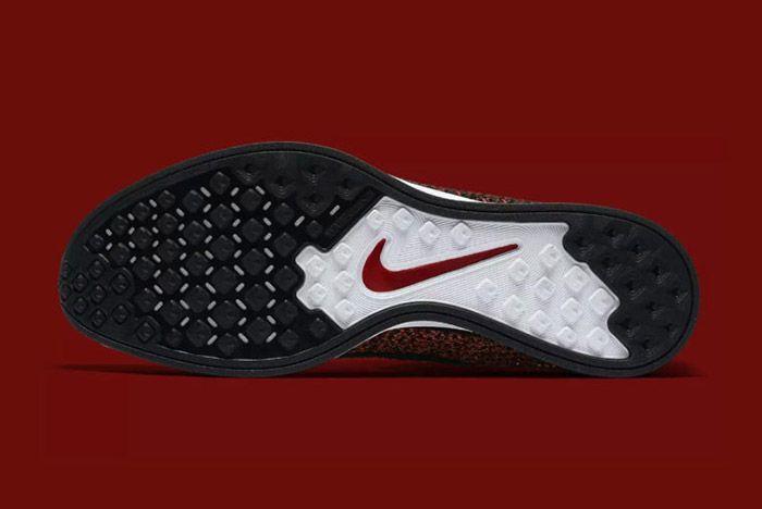 Nike Flyknit Racer Burgundy 3