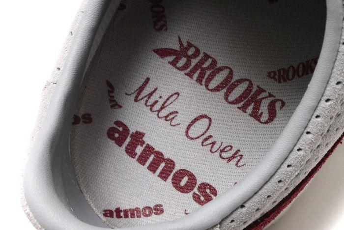 Mila Owen Atmos Brooks Vanguard Cool Grey Crimson 3