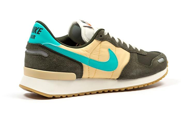 Nike Air Vortex Sequoia Hyper Jade Heel Angle Shot