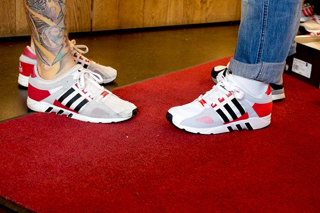 Adidas Eqt And Snkr Frkr Montana Cans Launch At Overkill Recap 7
