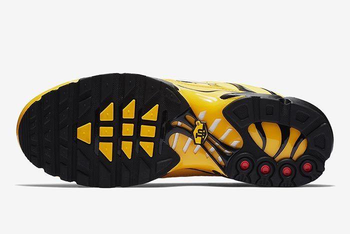 Nike Air Max Plus Yellow 5