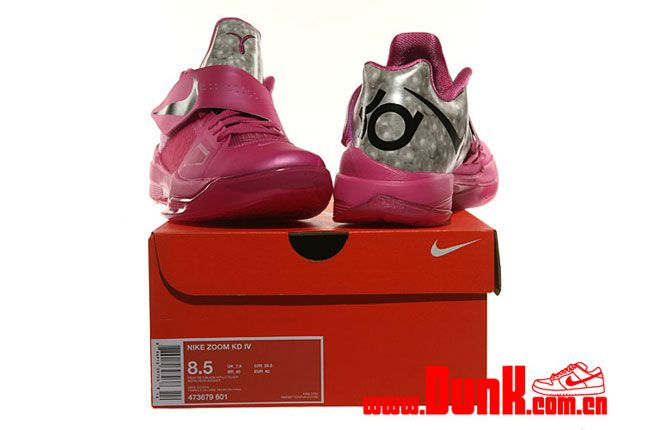 Nike Kd4 Aunt Pearl Think Pink 06 1