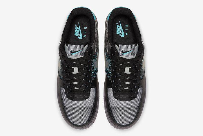 Nike Air Force 1 Graffiti Above Shot