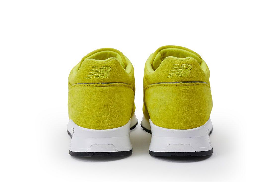 Pop New Balance 1500 Electric Yellow Pair Heel