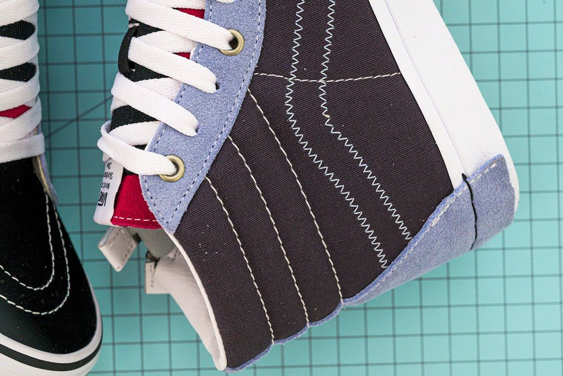 Vans Sk8 Hi Reissue Cap Lateral Heel Detail