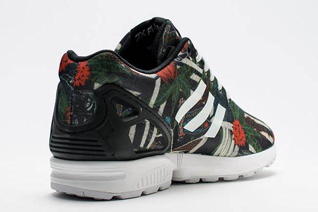 Adidas Zx Flux Womens Floral Geometric Print 3